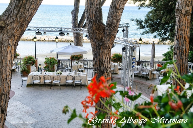 The piano bar - Grande Albergo Miramare